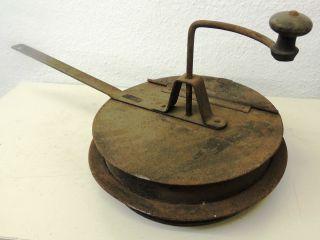 Antiker Kaffeeröster Maroni Getreide Küchenherd Deko Männer Frauen Rösten Alles Bild
