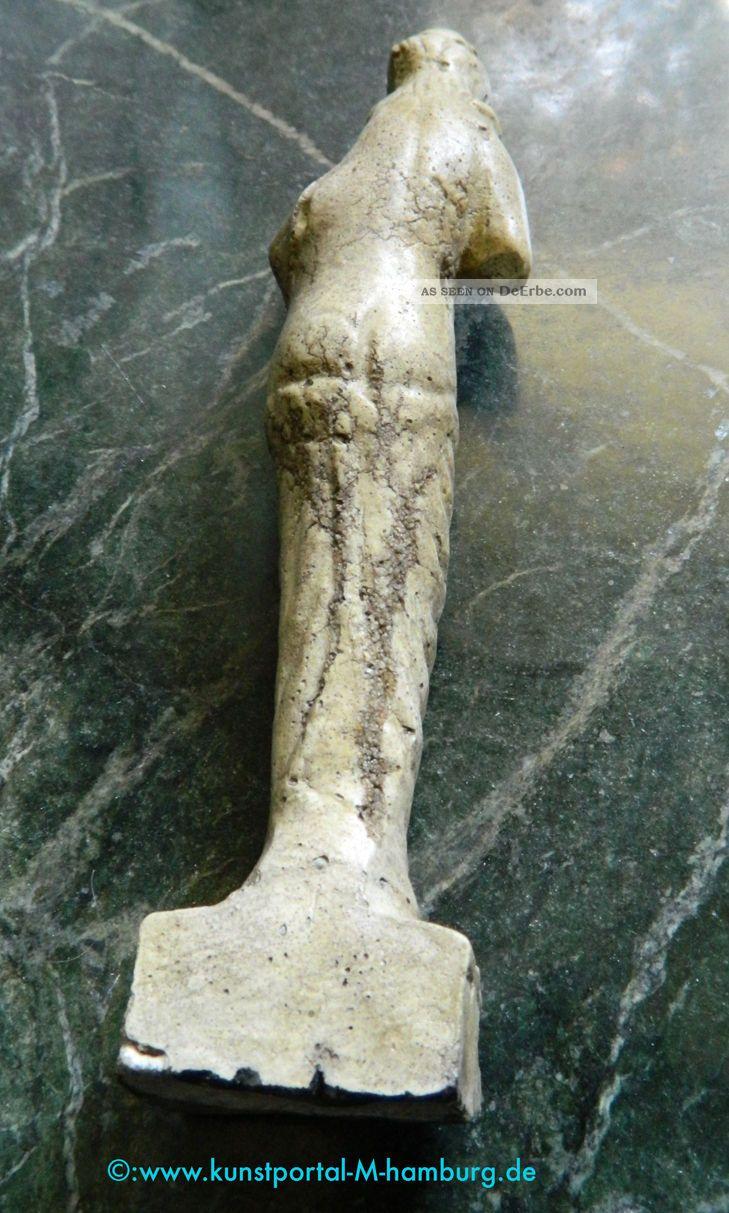 Antik Römische Göttin Venus - Statuette - 2.  Jhr.  N.  Chr.  - Museale Replik Antike Bild