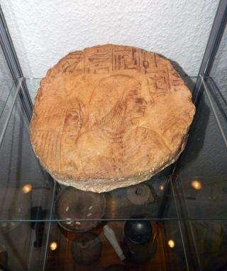 Großes Altägyptisches Wandrelief - Fragment Bild