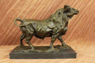 Art Deco Statue Bullenkampf Toro Bronze Statue Skulptur Bild