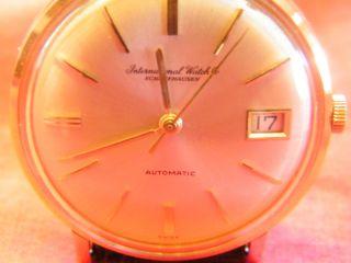 Iwc Uhr Gold Bild