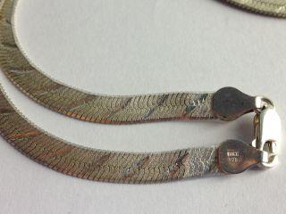 Schlangenkette Halskette Silber 925 Italy Bild