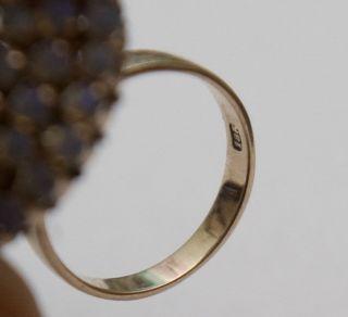 Wunderschöner Extravaganter Opal Ring 18 Karat Gold Bild