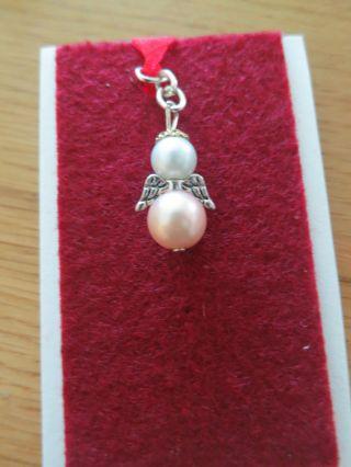 Schutzengel,  Perlen - Draht,  Schlüsselanhänger,  Perlenengel,  Ohrringe,  Anhänger Bild