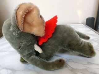 Steiff Elefant Floppy Ele 18 Cm Mohair,  Filzkragen Bild