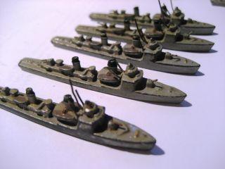 Schiffe & U - Boot - Kriegsmarine Sammlung Von Schiffen Aus Blei Bild