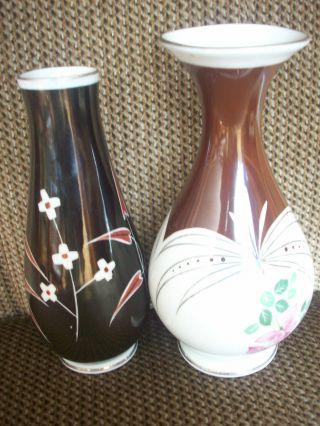 2 Vasen - Spechtsbrunn - Handgemalt Bild
