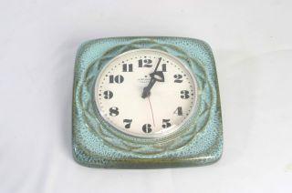 60er 70er Jahre Junghans Resonic Keramik Wanduhr Uhr Bild