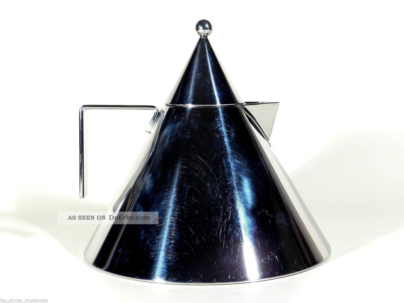 Alessi Italy Wasserkessel Il Conico ° Wasserkocher ° Design Aldo Rossi Design & Stil Bild