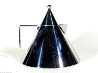 Alessi Italy Wasserkessel Il Conico ° Wasserkocher ° Design Aldo Rossi Bild