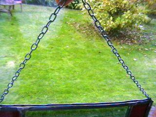 Glas Fensterbild In Bleiverglasung