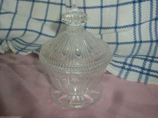 Kristall Schale Bonboniere Mit Deckel Bild