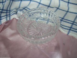 Kristall Aschenbecher Sehr Schwer Bild