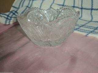 Kristall Schale Mit Blumen Oval Bild