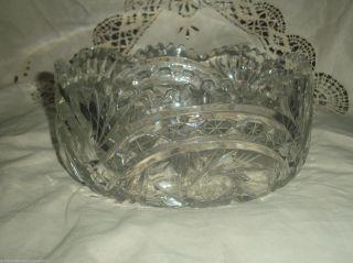 Grosse Kristall Schale Bild