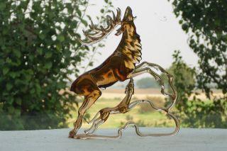 Sehr Selten Glasfiguren,  Triere Figuren.  Ca: H.  17 Cm,  B.  14,  5 Cm,  T,  6,  5 Cm. Bild