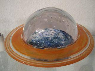 Briefbeschwerer / Paperweight / Skulptur / Galeriestück / Erde - Kosmos Bild