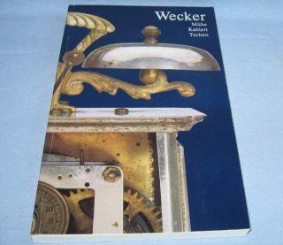Schönes Uhrenbuch Für Sammler über Wecker Von A Bis Z Uhren Buch Reisewecker Bild