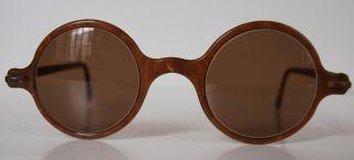20er 30er Jahre Nickelbrille Hornbrille Sonnebrille Brille Vintage Glasses 85 Bild
