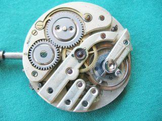 Altes Taschenuhren Werk Bild