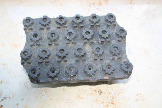Druckstock Druckmodel Model Stoffdruck Stempel Motivstempel Blaudruck Stancil Bild