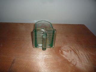 Schöne Antike Glas - Schütte,  Klein Bild
