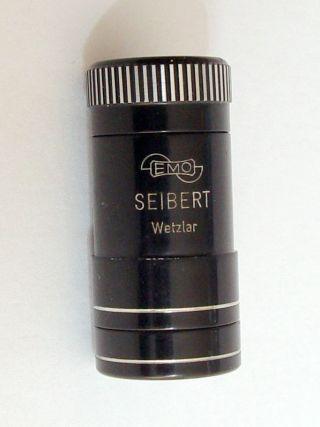 Emo Emoskop Seibert Wetzlar Universal Taschenlupe Taschenmikroskop Bild