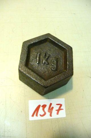 Nr.  1347.  Alte Gewicht 1 Kg Old Weight Bild