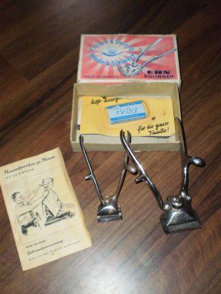 1 Haarschneidemaschine,  Krone & Schwert Solingen,  Haarschneidemaschine Tresstoni Bild