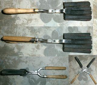 Werkzeug Spezialzange Blechform Brennzange Altes Werkzeug Tool Bild