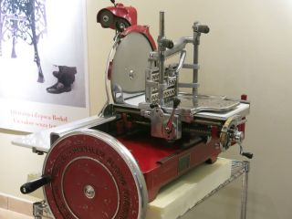 Antique Berkel & Parnall ' S Model 21 Slicing Machine Aufschnittmaschine Bild