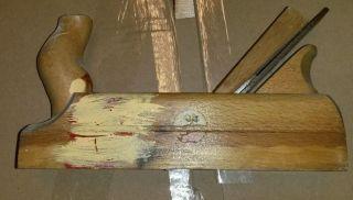 Großer Holz Hobel Bild