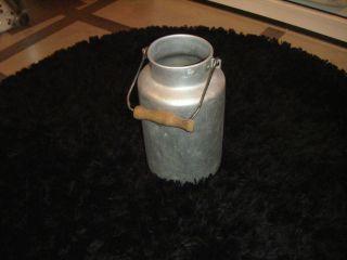 3 Liter Milchkanne,  Schulze Reinalumimium,  Alt - Antik - Rar,  Ohne Deckel, Bild