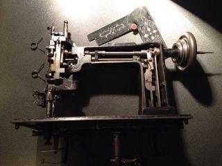 Cornely K Embroidery Sewing Stickmaschine Kurbelstickmaschine Nähmaschine Antik Bild