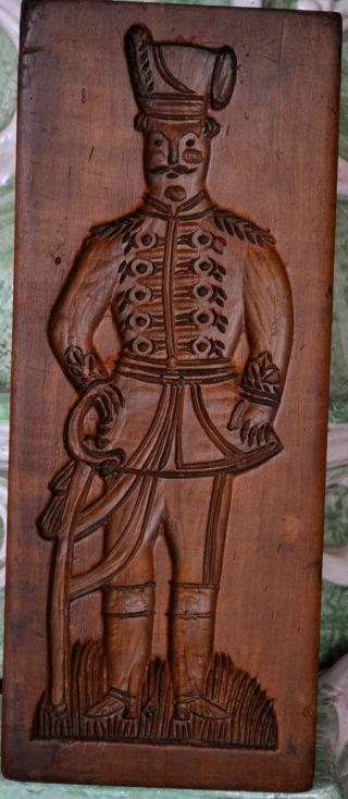 Antike Spekulatius Form Springerle Holz Doppelseitig 19 Jh Bild