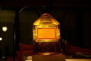 Apotheken - Chemikalien - Flasche,  Braun,  Groß (33 Cm Hoch,  5 Liter), Bild