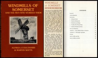 Windmills Of Somerset & The Men Who Worked Them Mühlentechnik Mühlengeschichte Bild