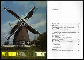 Molenboek Provincie Utrecht Mühlengeschichte Mühlen Müller Bild