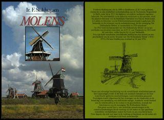 Molens Ir.  F.  Stokhuyzen Mühlengeschichte Mühlentechnik Müller Mühlen Bild
