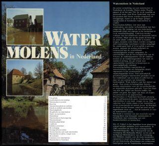Watermolens In Nederland Mühlentechnik Mühlengeschichte Wassermühlen Bild