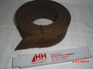 Transmissionsriemen Treibriemen Flachriemen Ca.  320cm X 6,  7cm Zubehör Leder Bild