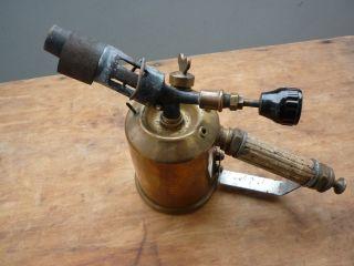 Lötlampe Lötbrenner Messing Kupfer Hähnel Nr.  70 Bild