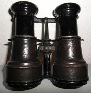 Antikes Fernglas Opernglas Feldstecher Antik 19.  Jhd.  Vintage Bild