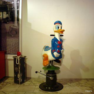 Friseurstuhl Kinderfriseurstuhl Barber Chair Ca.  1960er Jahr Ente By Franta Köln Bild