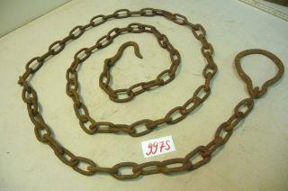 Nr.  9975.  Alte Kette Eisenkette 2 Kg Old Iron Chain Bild