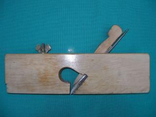 Holzhobel Handhobel Simshobel Hobel Doppeleisen 30,  5 Cm Bild