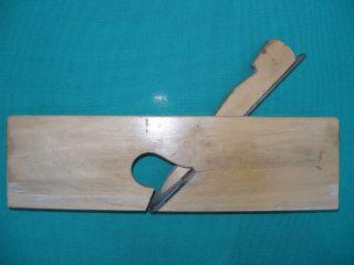 Holzhobel Handhobel Simshobel Spezialhobel Hobel Messer 20° Gedreht 26 Cm Länge Bild