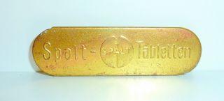 Pillendose Pillenbox Tablettendose Antik Spalt Tabletten Ein Traum Bild