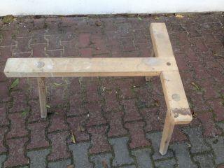Holzbock Für Zinkwanne,  Waschwanne,  Unterstellbock, Bild