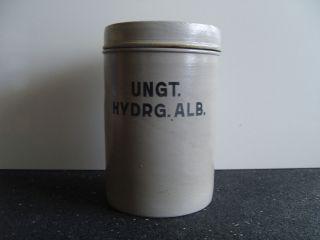 Apothekengefäß Aus Steingut (grau) (